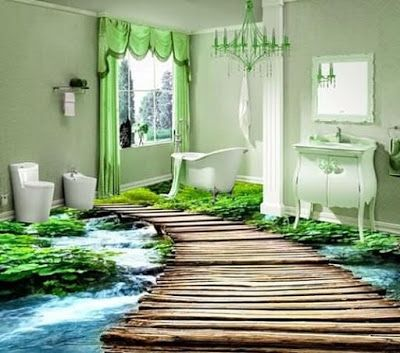 Best 3d Floor Tiles Extremely Amazing Designs 3d Floor Painting Painted Floors Modern Toilet