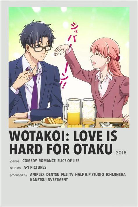 wotakoi minimalistic poster