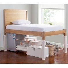 Suprima Ultimate Height Bed Risers Carbon Steel Dorm Room