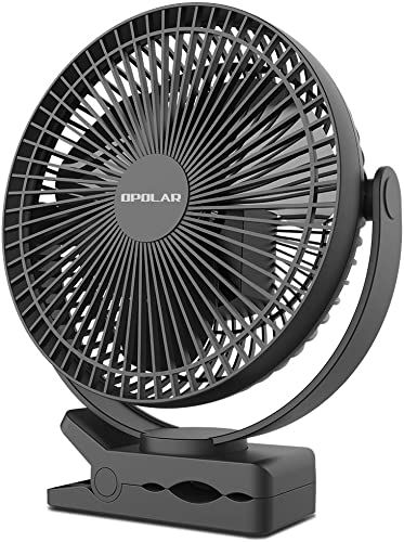 Buy Opolar 10000mah 8 Inch Rechargeable Battery Operated Clip Fan 4 Speeds Fast Air Circulating Usb Fan Sturdy Clamp Portable Outdoor Camping Tent Beach Tread In 2020 Classic Knife Tent Camping Rechargeable Batteries