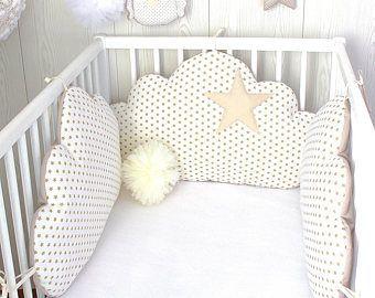 Babybett Stossstangen Fur 60 Cm Oder 70 Cm Breites Bett 5 Gelbe