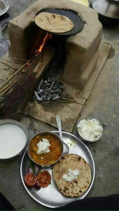 I could eat it everyday! Punjabi food.