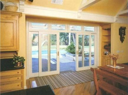 12 Foot Wide X 10 Foot Wall French Slider To Rear Patio French Doors Patio French Doors Exterior