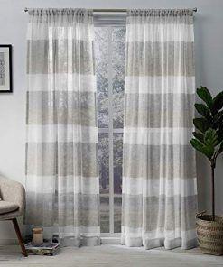 50 Farmhouse Drapes And Rustic Drapes Panel Curtains Drapes