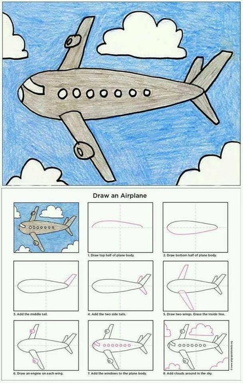 Simple ways that teaches you how to draw618