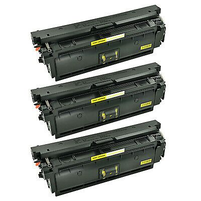 3 Pk Cf362x Yellow Toner Cartridge For Hp Color Enterprise 508x Mfp M577 M553dn In 2020 Toner Toner Cartridge Cartridges
