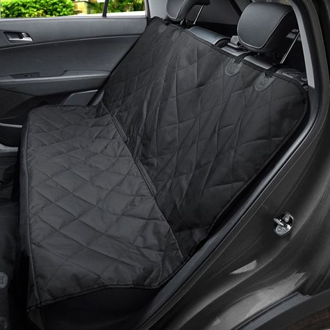 MixMart Dog Car Seat Cover Nonslip Rubber Backing With Anchors Universal Design For All Cars Trucks