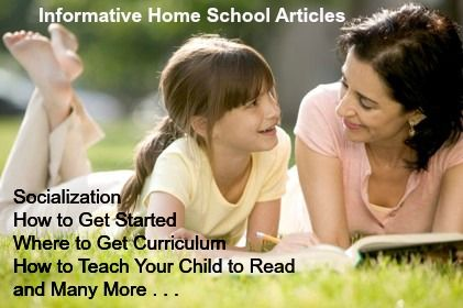 Home school Articles for you