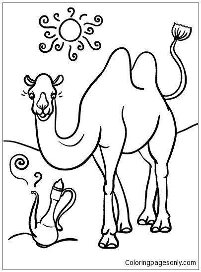 Pin On Deserts Coloring Pages