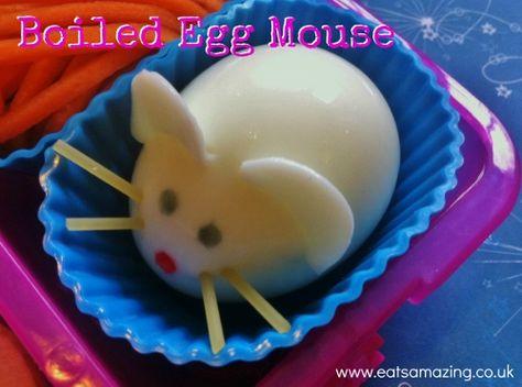 Eats Amazing - Boiled Egg Mouse