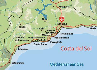 carte costa del sol 103 Best Ronda, Malaga, Spain. My Roots images | Malaga, Spain