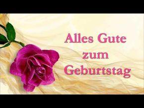 Alles Gute Zum Geburtstag Geburtstagslied Video Mit Text