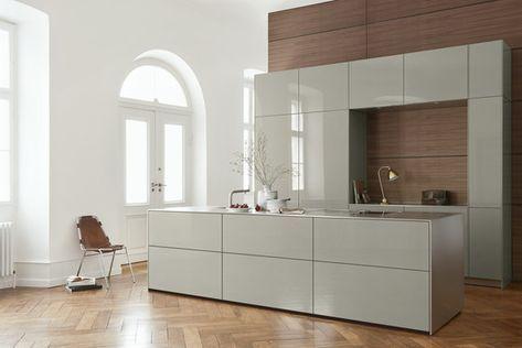 B3 Monoblock In Stainless Steel De Bulthaup Cuisines Integrees Moderne Keukens Keuken Inspiratie Keuken Ontwerp
