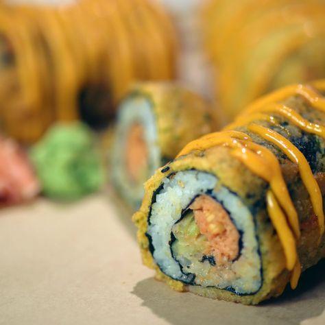 Homemade Sushi Recipes |  Spicy Tuna Corn Dog