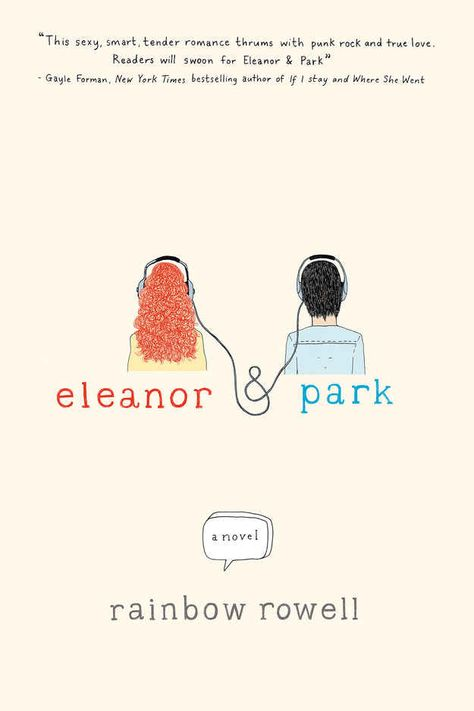 Eleanor & Park by Rainbow Rowell. This is a love story about two people falling in love with each other and a book they both adore. If you're in the mood for a fun romantic novel with some dark turns, and have a bit of geekiness in you, then definitely add this to the summer reading list.
