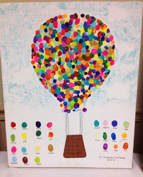 Hot Air Ballon Finger Print Art For School Art Auction Whimsy Pineapple Finger Painting Diy Crafts For Kids Easy Diy Projects We Love This Finger Painting Idea Children And Adults…Read more of Finger Painting Projects Class Art Projects, Auction Projects, Art Auction, School Auction, Lathe Projects, Auction Ideas, Collaborative Art Projects, Diy Projects, Arte Elemental