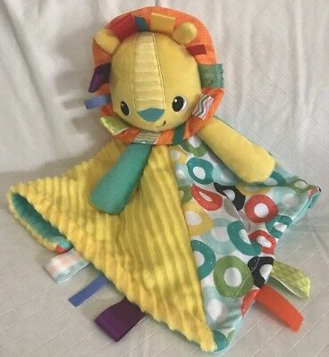 Taggies Bright Starts Security Blanket Lovey Baby Toy Plush