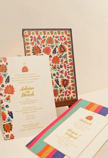 3D Pastel Wedding Invitation cards Indian wedding invitations - invitation card kolkata