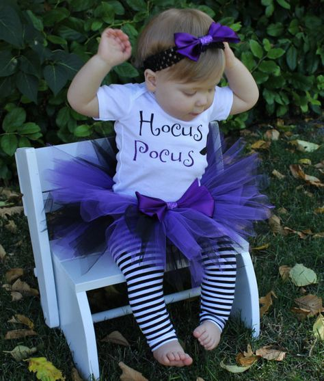 Little Witch Costume // Witch Tutu Set // by LittlePrincessBottom