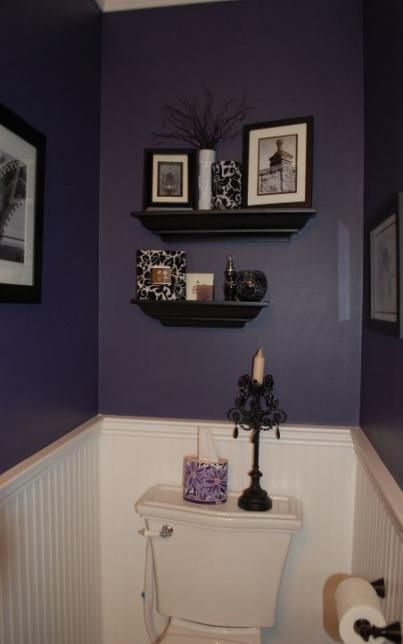 Enclosed Lanai Design Ideas, Bath Room Dark Purple Tubs 35 Ideas For 2019 Bath 694469205021539383 Half Bathroom Decor Purple Bathroom Decor Purple Bathrooms