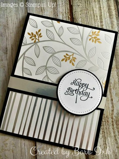 One Card - Two Looks! - Created by Barb Ink - Stampin' Up! - Sweet Soiree Stamp Set