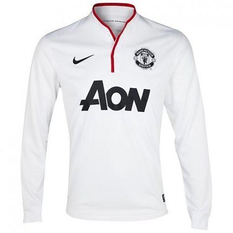2e443f2364 Manchester United Manga Larga 2012 13 Away Camiseta futbol  643  - €16.87    Camisetas de futbol baratas online!