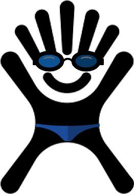 Swimmer Hydro Flask Logo Sticker By Alexismcc Hydroflask Swimmer Hydro