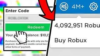 Enter This Roblox Promo Code For Free Robux 1 000 000 Robux November 2019 Roblox What Is Roblox Roblox Roblox