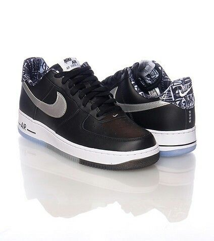 newest f7b50 93504 Men s Nike Air Force 1 Low Casual Shoes. Men s Nike Air Force 1 Low Casual  Shoes - 488298 086   Finish Line   Cool Grey Black White