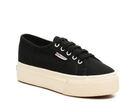 9252714e4f5a8 Women's Superga 2790 Flatform Sneaker - Black | Products | Pinterest ...