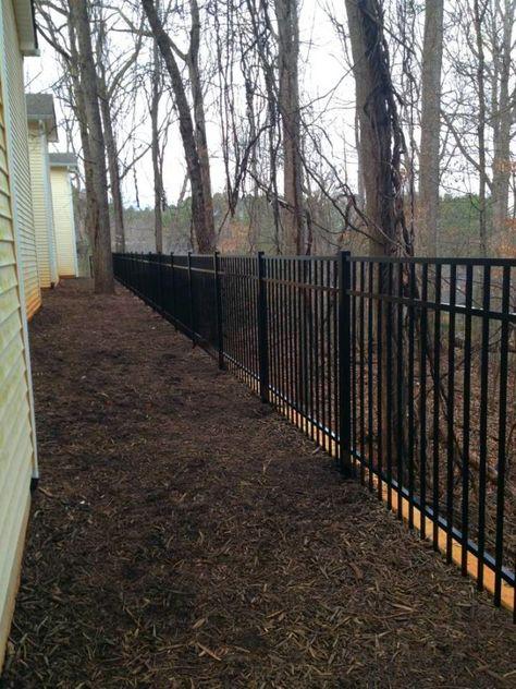 Akridge Commercial Fences Chain Link Fences Wrought Iron Fence