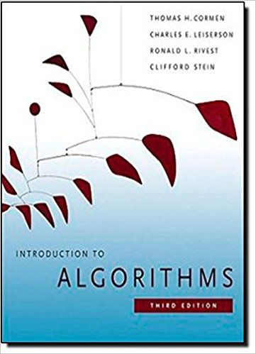 Solution Manual For Introduction To Algorithms 3rd Edition Edition 3rd Edition Author By Thomas H Cormen Charles Introduction To Algorithms Algorithm Ebook