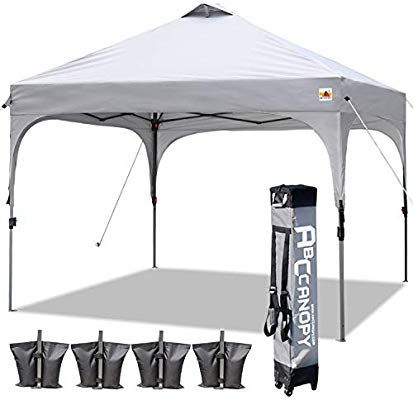 Amazon Com Abccanopy Canopy Tent 10x10 Pop Up Canopy Outdoor Canopies Portable Tent Popup Beach Canopy Shade Canopy Te In 2020 Canopy Outdoor Beach Canopy Canopy Tent