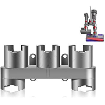Amazon Com Lanmu Docking Station Accessory Holder Attachments Organizer Compatible With Dyson V In 2020 Cordless Stick Vacuum Cleaner Stick Vacuum Accessories Holder
