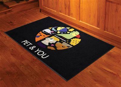 4x6 Custom Printed Indoor Floor Mats Myshopangel Promotional Products Door Mats Floor Mats Custom Floor Flooring