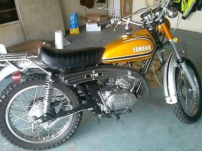 Resultado De Imagem Para 1972 Yamaha 175 Enduro Enduro Motorcycle Yamaha Bikes Motocross Bikes