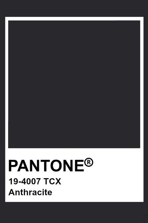 Pantone Anthracite