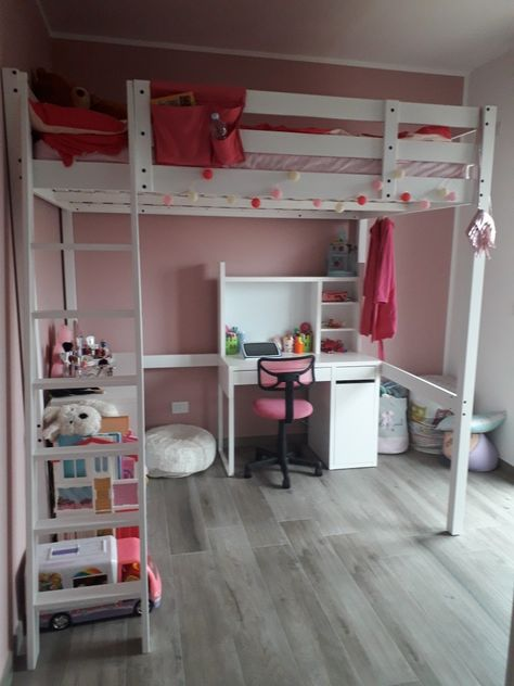 Camerette A Doppio Ponte Ikea.Cameretta Ikea Con Soppalco Tanto Spazio In 10mq Camera Bambini