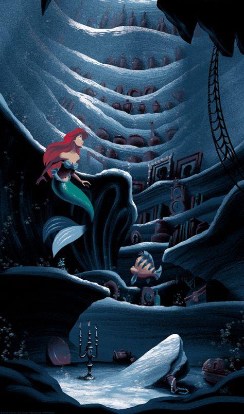 Drawing Disney Ariel Little Mermaids - Drawing Ariel Disney, Disney Pixar, Disney Princess Art, Disney Fan Art, Disney And Dreamworks, Disney Cartoons, Disney Movies, Disney Princesses, Walt Disney