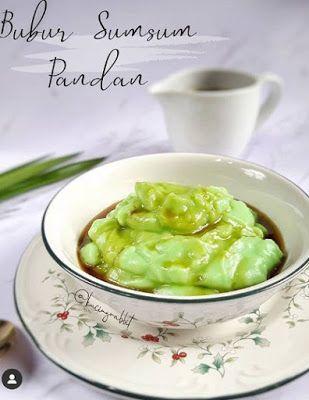 Bubur Sumsum Pandan Resep Masakan Ide Makanan Resep