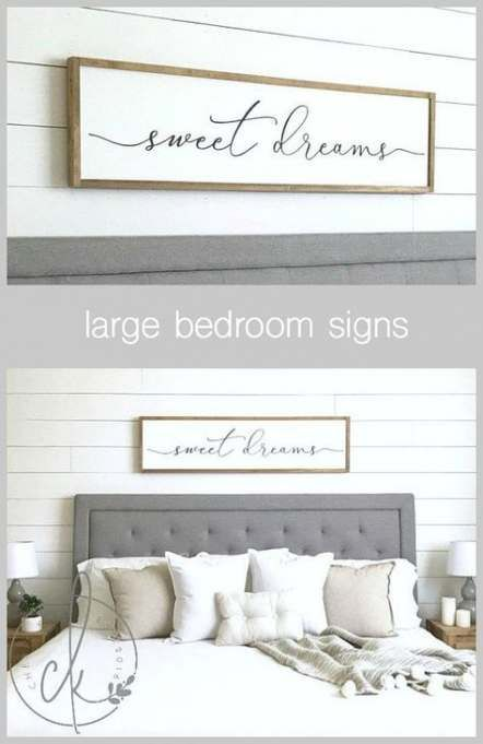 54 Trendy Farmhouse Bedroom Signs Quotes Master Bedroom Wall Decor Bedroom Signs Wall Decor Bedroom