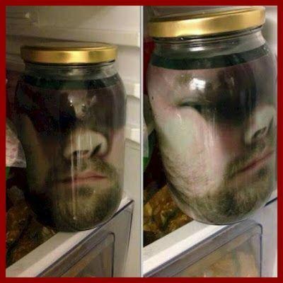Halloween 2020 Severed Head Dollar Store Crafter: *Severed Head In Jar* Halloween Prank in