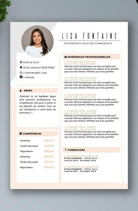 Exemples De Cv Plus De 20 Exemples De Cv Word Design Et Original Cv Template Cv Template Resume Design Portfolio Design Portfoli Cv Kreatif Desain Cv Template