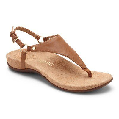 Women S Comfortable Sandals With Arch Support Vionic Shoes Supportive Sandals Vionic Sandals Comfortable Walking Sandals