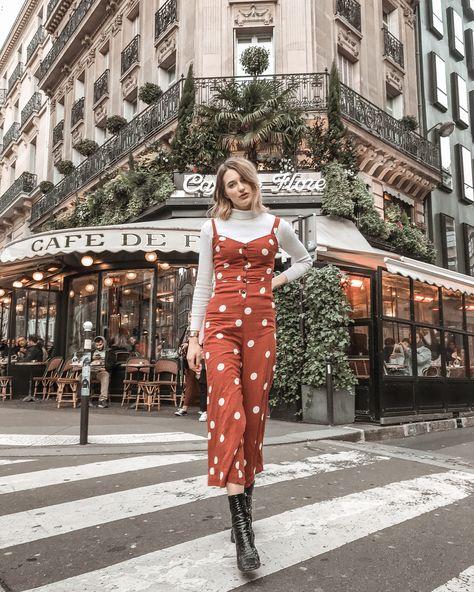 spring primark outfit in Paris