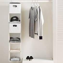 Over The Door Modular Storage Hanging Closet Dorm Closet Organization Closet Planning