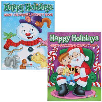 Bulk Christmas Jumbo Coloring  Activity Book 144 Pages at