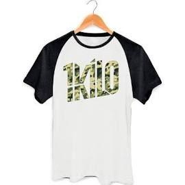 Camisa Camiseta Raglan Banda 1 Kilo  31456d88d59