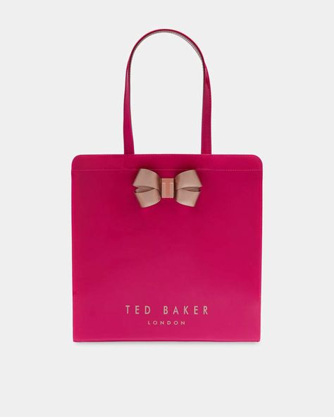 Ted Baker Bow detail large icon bag | Products | Pinterest