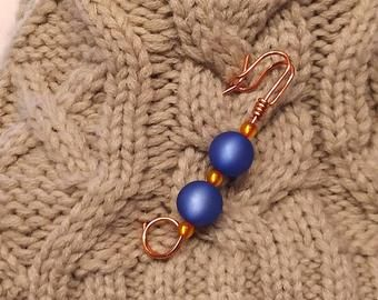 Handmade Beaded Stone Shawl and Sweater Pin